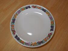 Wedgwood England HEREFORD Set of 5 Dinner Plates Fruit Rim 10 7/8 in