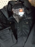 Mens Columbia Eagles Cell Insulated Black Jacket XXL NEW