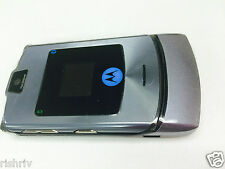 "MOTOROLA RAZR V3i IN  Silver MOBILE PHONE-FULLY UNLOCKED EXCEPT ""3"" UK SELLER"