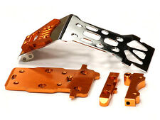 T5019ORANGE Integy Steel Front Skid Plate for HPI 1/12 Savage XS Flux