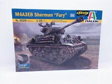"Lot 46053   ITALERI no 6529 m4a3e8 Sherman ""Fury"" 1:35 KIT NUOVO OVP"