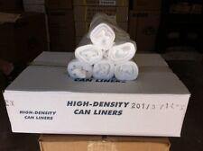 "100pcs 33gal High Density Trash Can Liners Bag 33x40"" thickness 11micron/0.39mil"