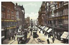 Vintage Postcard Church Street Liverpool Unposted White Star line Titanic office