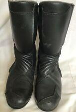BMW Biker Boots Motorrad Black Motorcycle Gear Goretex Size Uk 8 Eu 42 #916