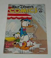 WALT DISNEY COMICS & STORIES # 91 DELL COMICS 1948 DONALD DUCK MICKEY MOUSE
