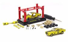 M2 MACHINES 1/64 MODEL-KIT & AUTO-LIFT WAVE 1965 SHELBY G.T. 350R 37000-13 CHASE