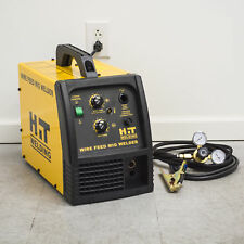 HIT 140 Amp MIG 120V Welder Includes Gas Hose, Regulator, 10 ft. TWECO Type M...