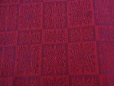 Beautiful Holiday Linen Look/ Cotton Fabric Placemats-Set of 2