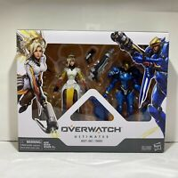 "Overwatch Ultimates 6"" Pharah And Mercy Dual Pack 2 Action Figures Hasbro"