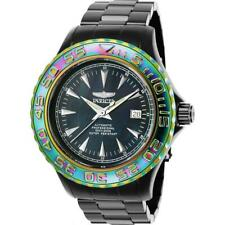 Invicta Pro Diver 25565 Men's Black Iridescent Rainbow Automatic 24 Jewel Watch