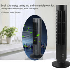 Mini Portable USB Cooling Air Conditioner Purifier Tower Bladeless Desk Fan