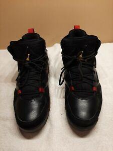 Nike Air Jordan Flight Club '91 Black Red Dandelion 555475-067 Mens Size 10 2018