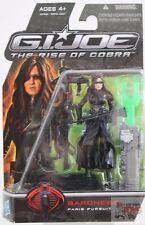 "BARONESS PARIS PURSUIT Hasbro GI JOE Rise Of Cobra 2008 3.75"" Inch Action FIGURE"