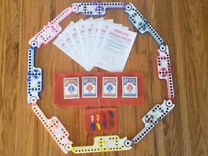 Large 2-8 Player Pegs and Jokers or Marbles Game Set NEW American Made in USA