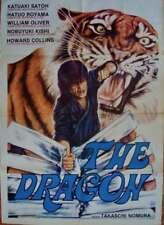 STRONGEST KARATE Italian 2F movie poster 39x55 MARTIAL ARTS 1976