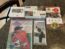 3 Bot Lot 2001 Upper Deck TIGER WOODS & RARE 1996 NIKETOWN ROOKIE MINT Card MORE