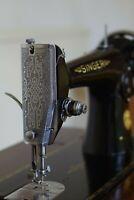 Singer 201K sewing machine. Serviced.  In original cabinet. Stunning condition