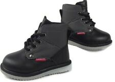Levis New Size 5 Baby Boots Black Ankle Laces Chukka