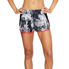 Under Armour UA HeatGear Launch Printed Tulip Ladies Sports Running Shorts M