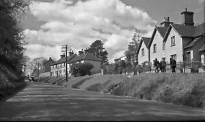 B/W Negative Bletchingley Surrey 1948 +Copyright DB834
