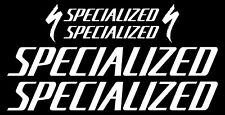 Specialized Bicycle Frame Decal Sticker Set MTB/Road Bike (Gloss White)