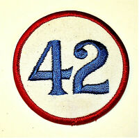 1970s Marty Robbins Racing Team NASCAR #42 Cloth Patch New NOS