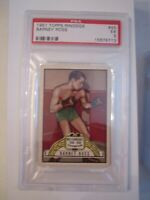 1951 BARNEY ROSS BOXING CARD #45 - TOPPS RINGSIDE - PSA GRADED EX 5