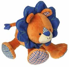 Mary Meyer Lion Levi Orange Blue Green Bright Baby Stuffed Animal NEW