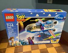 NIB LEGO 7593 Toy Story Buzz Lightyear Star Command Spaceship Zurg Retired Set