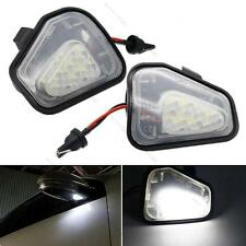 2x CAN-bus LED Under Side Mirror Puddle Lights #L For VW CC EOS Passat Scirocco
