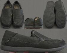 Crocs Santa Cruz 2 Luxe Leather / Croslite Loafers Men's Size US 10 Black