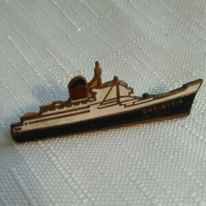 SWEETHEART BROOCH ENAMELLED SHIP BADGE - RMS CORINTHIA - Approx. 4.5cm STRATTON