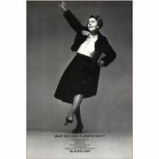 1971 Blackglama: Ruby Keeler Vintage Print Ad