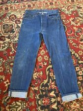 Vintage Levis 501XX Denim Jeans 501-0000 Made in USA Actual 31 X 30 Tag 33 X 32