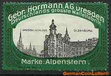 Marke: Alpenstern, DRESDEN - Gebr. Hörmann A.G., OLDENBURG - Gr.Schloss (#25960)