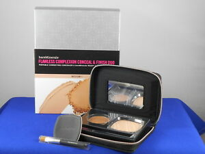 Bareminerals FLAWLESS COMPLEXION CONCEAL & FINISH DUO Medium 1 Mirrored Compact