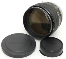Canon FD 85mm F1.2 S.S.C Aspherical Lens. Filter