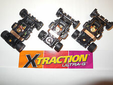 AUTO WORLD ~ 3 New Xtraction Ultra G Chassis ~ ALSO FITS AFX, AW, JL