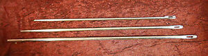 Sattlernadel Nadeln Ledernadel Schusternadel gerade Sattler Nadel