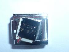 SILVER HOLY BIBLE BOOK ITALIAN CHARM FITS ALL 9mm BRACELETS AN1