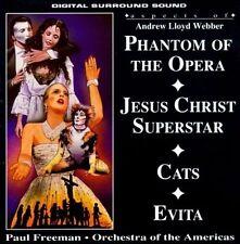 Aspects of Phantom of the Opera/Jesus Christ Superstar/Cats/Evita by Paul CD