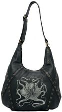 SOURPUSS OCTOPUS HOBO NAUTICAL KRAKEN PURSE PUNK GOTH TATTOO 50s RETRO HANDBAG
