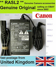 Genuine Original Canon CA-570 Power Adapter Vixia HV40 HV30 HV20 HV10 DC 330 301