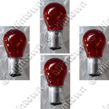 Candlepower 1157 Red Bulbs Glass 12V Stop Turn Brake Taillights Tail Light