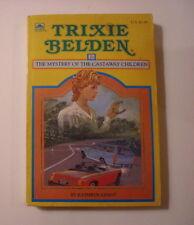 Trixie Belden #21, Mystery of the Castaway Children, Paperback