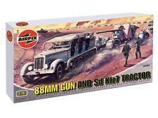 AIRFIX 1:76 KIT MONTAGGIO MEZZO MILITARE 88MM GUN SD KFz7 TRACTOR 02303  serie 2