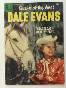 1958 QUEEN OF THE WEST DALE EVANS COMIC # 20 (FN +)