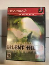 PS2 Silent Hill 2 Greatest Hits COMPLETE CIB -PLAYSTATION 2 -VERY GOOD CONDITION