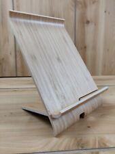 Ikea SIGFINN Universal Wooden Bamboo Mobile Tablet Dock Station Holder Stand