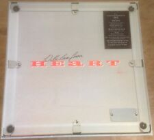 HEART COEUR * BAD animaux 1980 S uk capitol VINYL LP Box Set * lettres * Calendrier etc